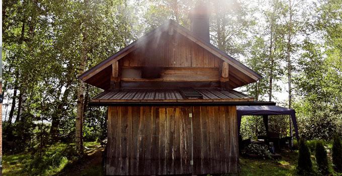 Saunat savuavat kesäisin