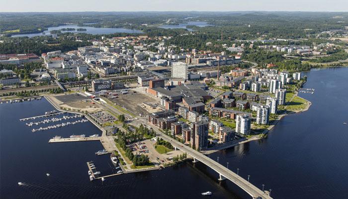 Jyväskylän kylästä rakentui vuosien aikana massiivinen kaupuki